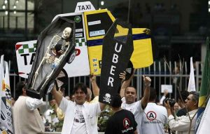 taxis contra uber