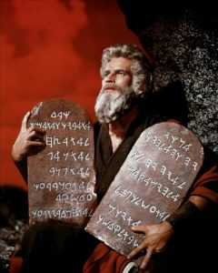 Charlton Heston Ten Commandments
