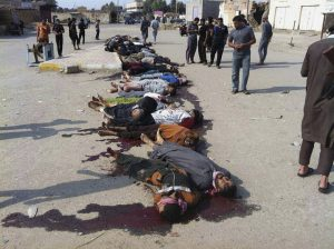 Mideast Iraq Islamic State Killings
