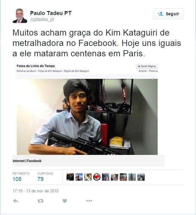 paulo tadeu PT kim kataguiri