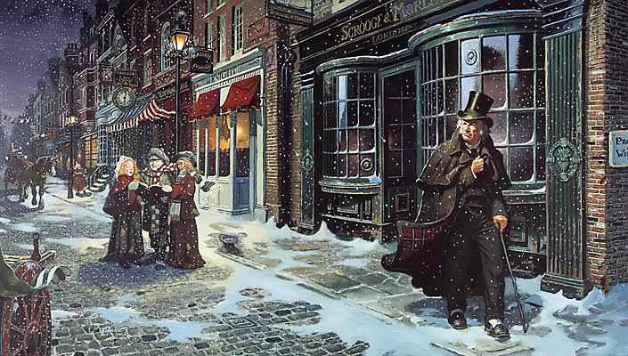 Não termine o ano sem ler Charles Dickens
