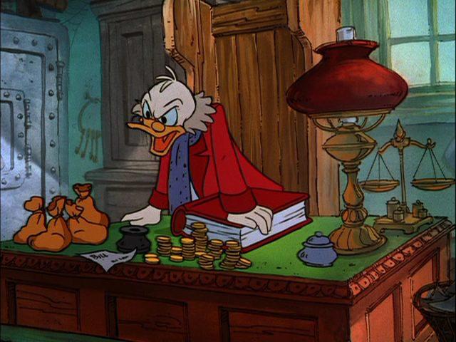 Scrooge_McDuck Christmas Carol