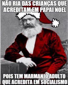 karl marx papai noel socialismo