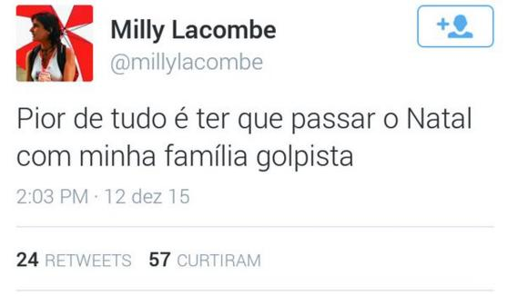 tweet milly lacombe