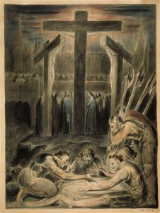BLAKE, William 'The Soldiers casting lots for Christ's Garments' C.1800