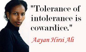 ayaanhirsiali tolerane