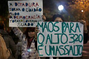 cartaz ditadura