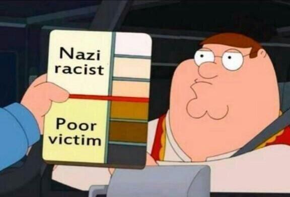 family guy nazi racist poor victim