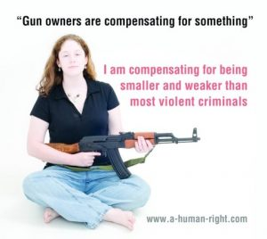 guns are compensating