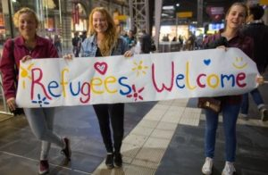 refugees welcome koln