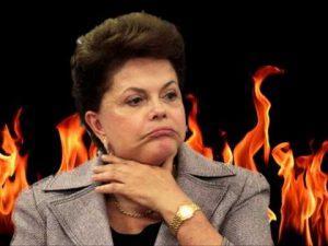 dilma fogo