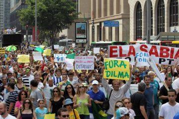 Protesto impeachment dilma