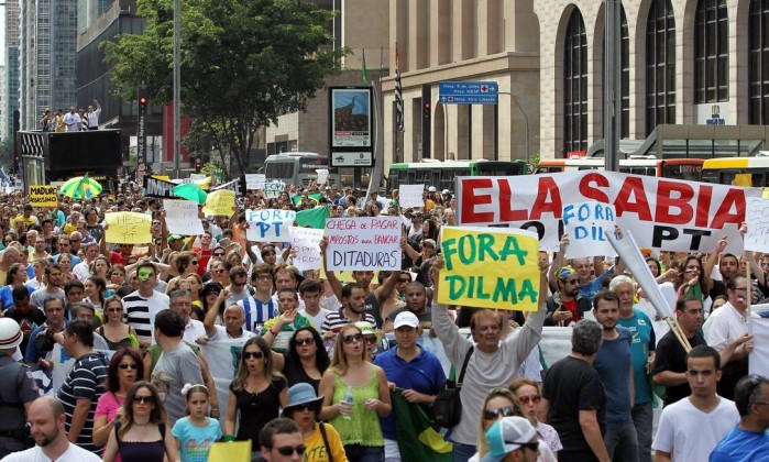 Protesto impeachment dilma