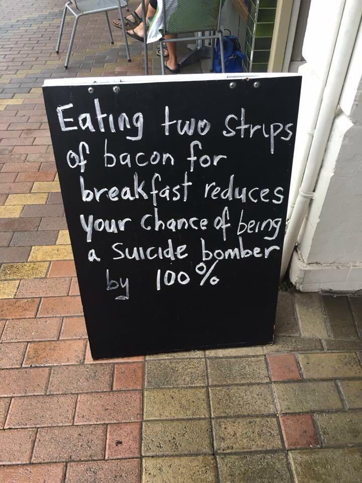 bacon strips terrorist