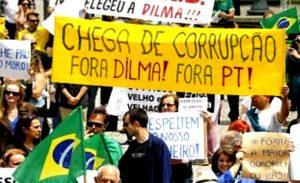 fora dilma pt corrupção