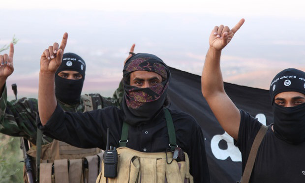 isis one finger