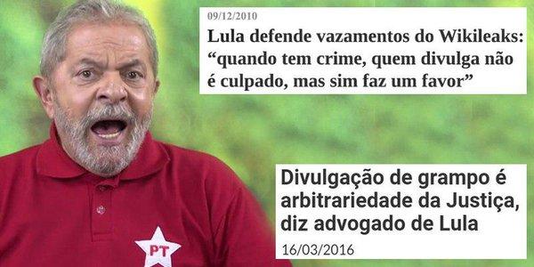 prints Lula humans of PT