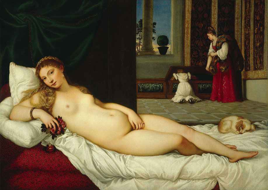 Venus of Urbino. Image licenced to Stephen Forsling FORSLING, STEPHEN by Stephen Forsling Usage : - 3000 X 3000 pixels (Letter Size, A4) © Scala / Art Resource