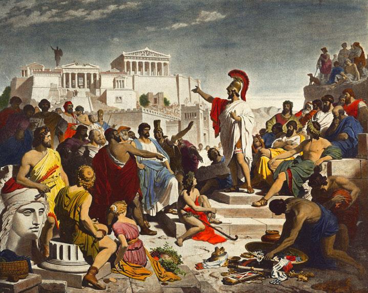 democracy roman