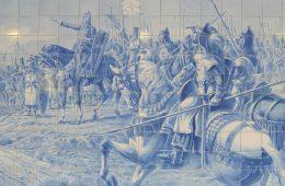 Santiago Matamouros na Batalha de Ouriques