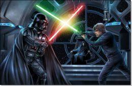 Darth Vader x Luke Skywalker