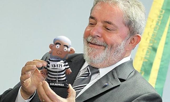 Lula e pixuleco Lulaladrão