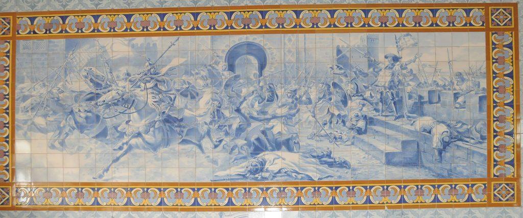 Santiago Matamouros na invasão de Ceuta