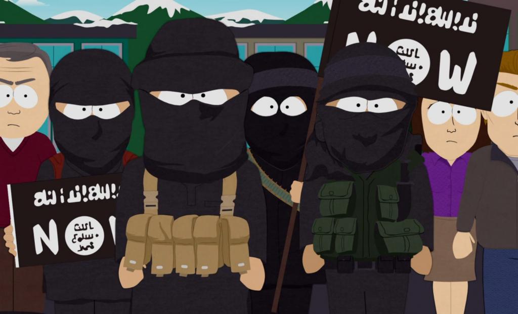 Terroristas do Estado Islâmico em South Park