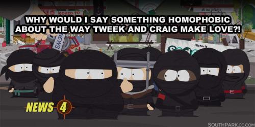 """South Park """"ninjas"""" do Estado Islâmico - piada homofóbica"""
