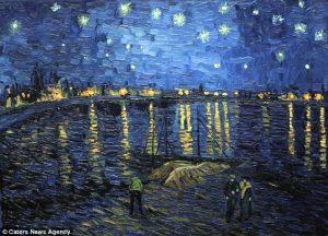 Vincent Van Gogh - Noite estrelada (Starry Night), 1888