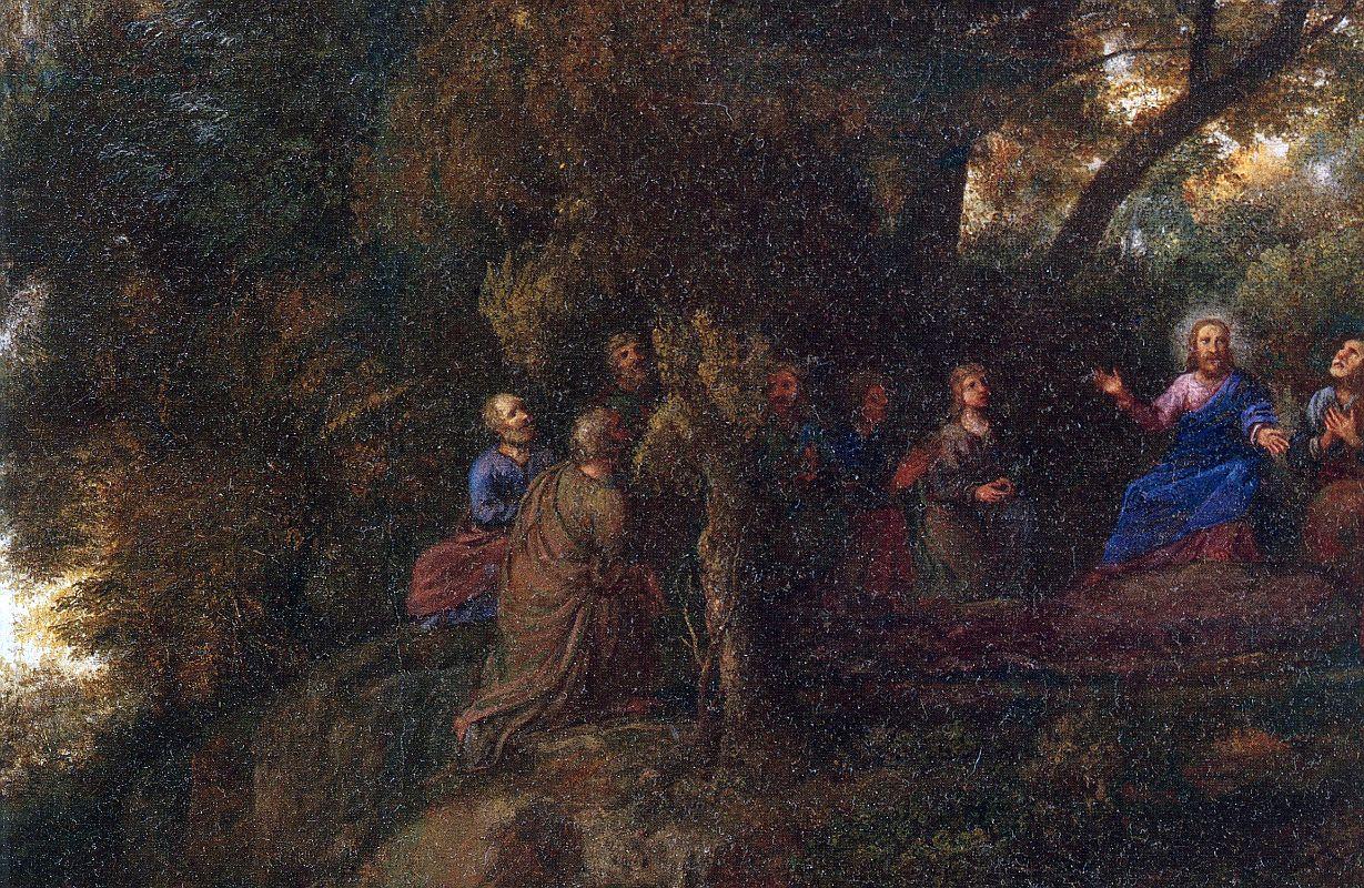 Jesus - Sermão da Montanha, de Claude Lorrain