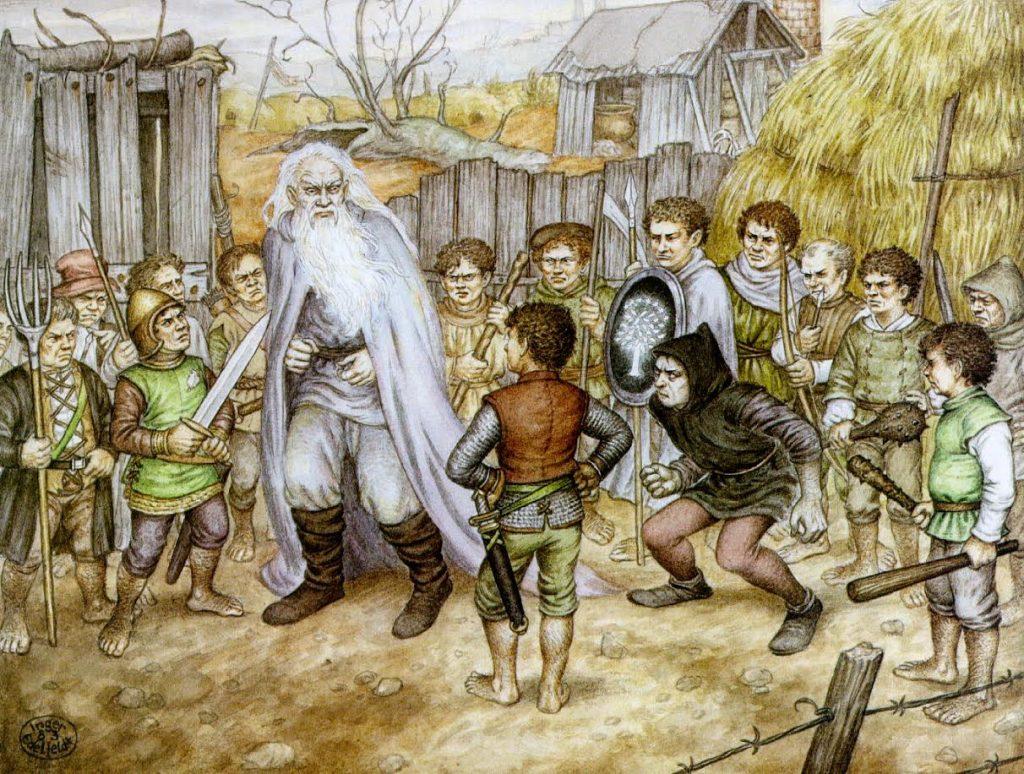 Batalha do Condado, O Senhor dos Anéis, J. R. R. Tolkien.