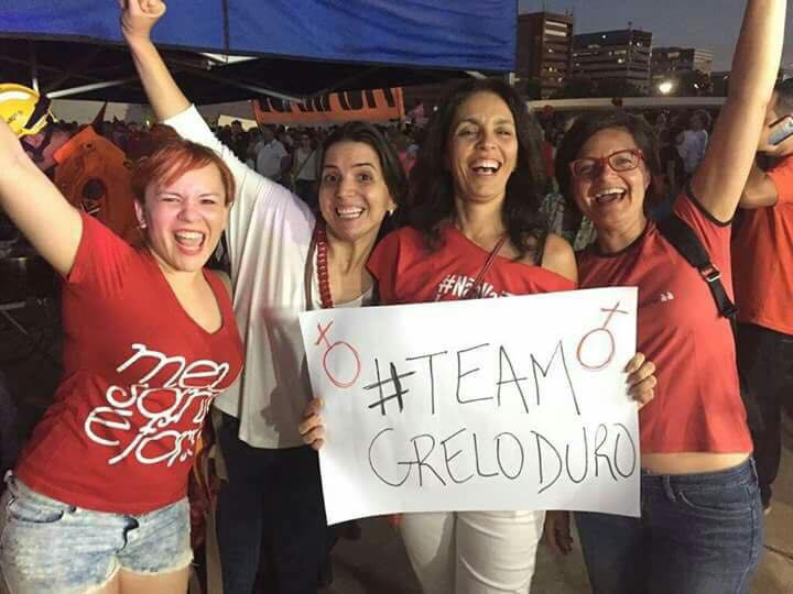 Cynara Menezes team grelo duro