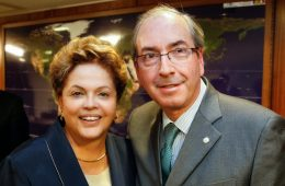 Dilma Rousseff e Eduardo Cunha