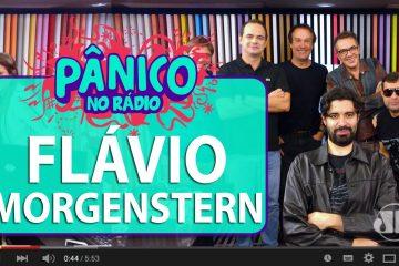 Flavio Morgenstern no Programa Pânico, da Jovem Pan FM