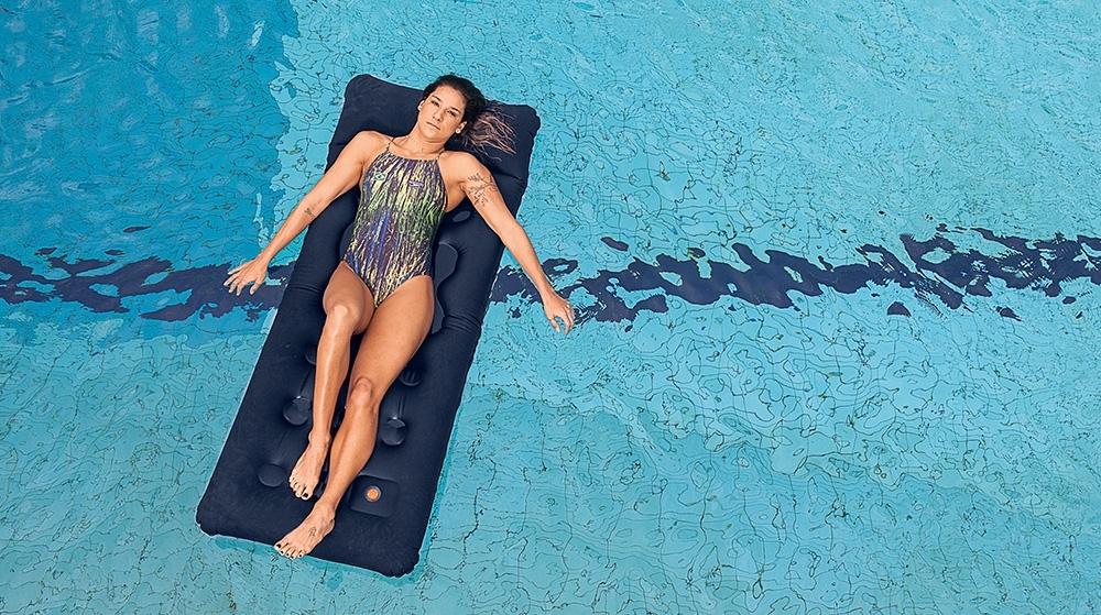 Joanna Maranhão na piscina