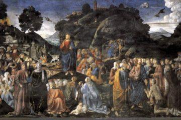 Cosimo Rosselli: The sermon on the mount