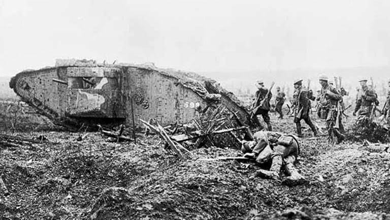 Primeira Guerra Mundial Tanques