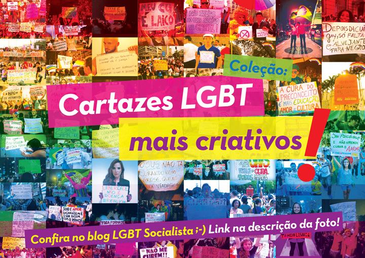 Cartazes LGBT mais criativos - LGBT socialista.
