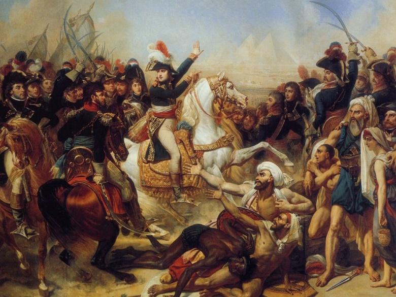 Guerra Napoleônica: Baron Antoine JeanGros-Battle Pyramids