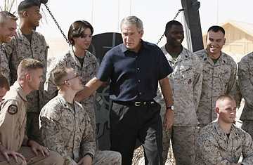 George W. Bush no Iraque