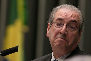 Eduardo Cunha chateado
