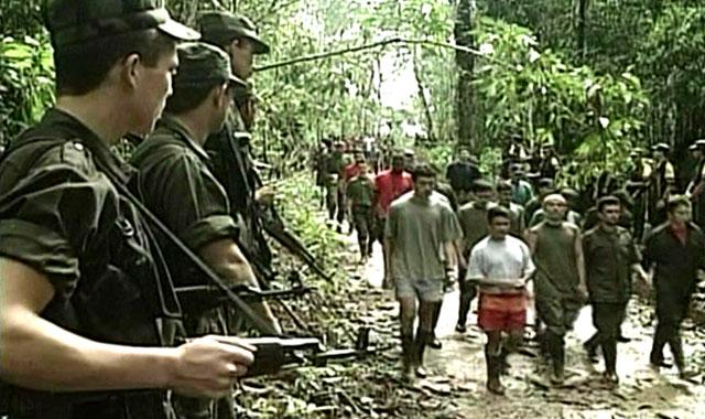 FARC - seqüestro