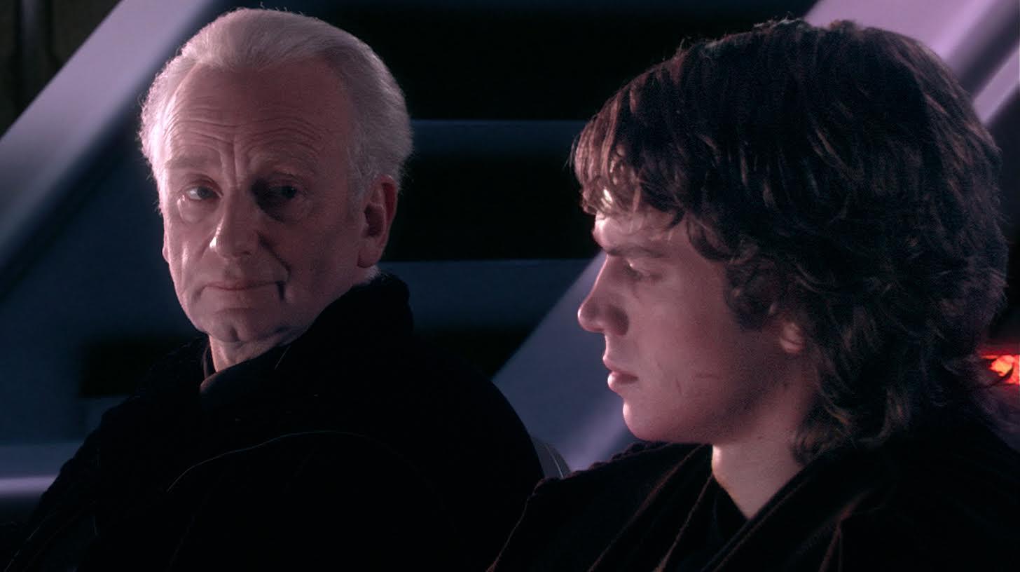 Palpatine e Anakin Skywalker, Star Wars