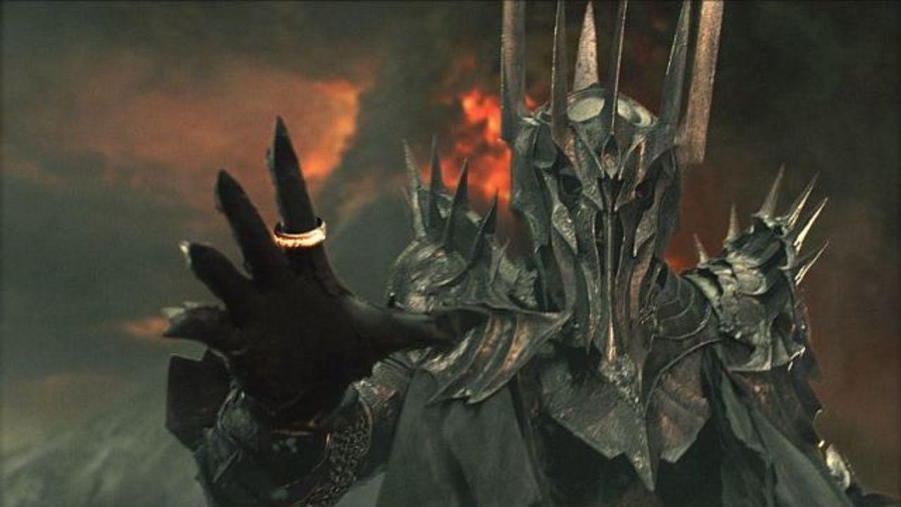 Sauron, vilão de O Senhor dos Anéis, de J. R. R. Tolkien