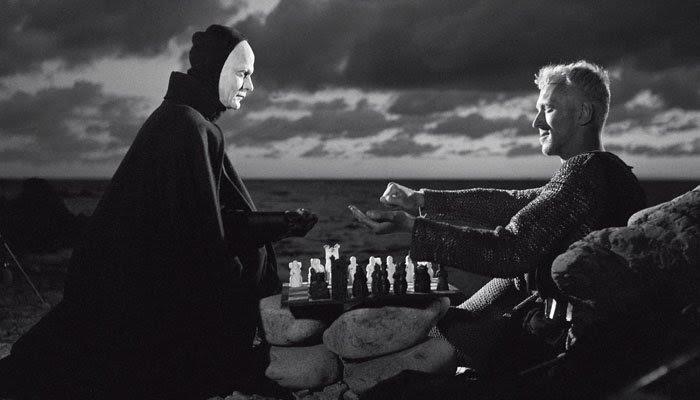 O Sétimo Selo, xadrez com a morte