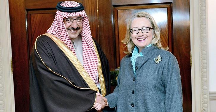 Hillary Clinton na Arábia Saudita