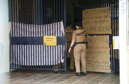 Morte em escola ocupada em Curitiba, no Paraná