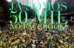 50 mil seguidores no Facebook