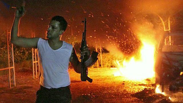Atentado em Benghazi, Líbia